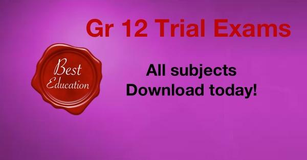 Grade 12 September Exams | Best Education Blog | Best Education
