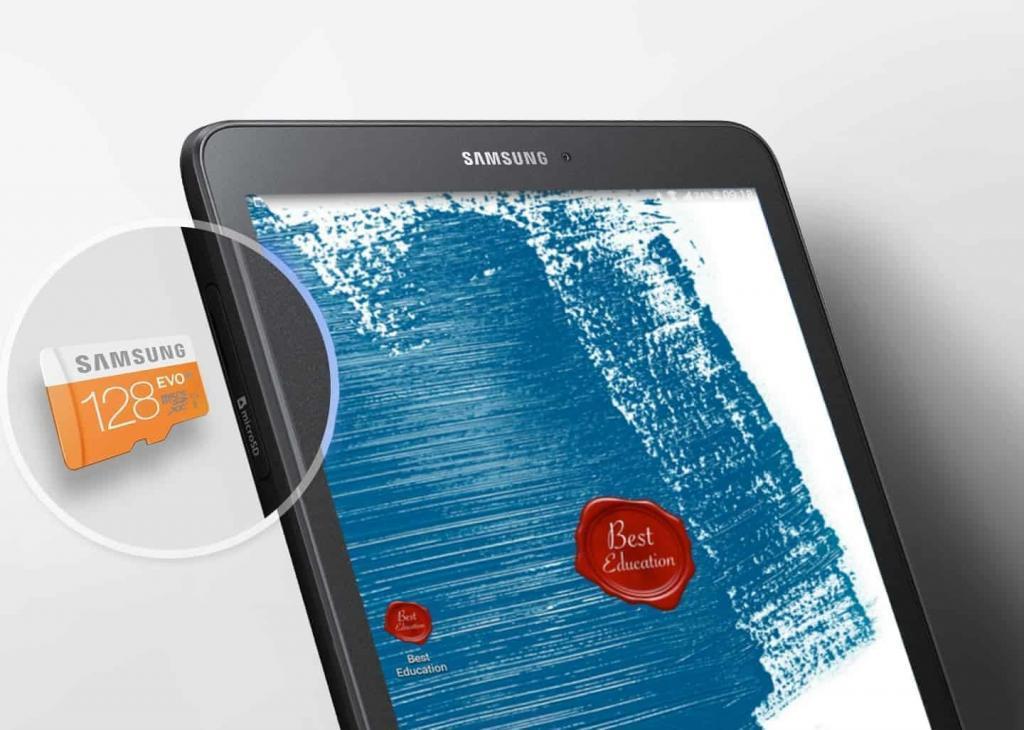 best education tablet-external storage