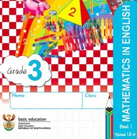 Gr. 3 Rainbow Maths Book 1