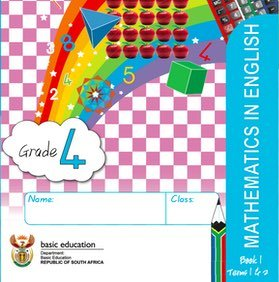 Gr. 4 Rainbow Maths Book 1