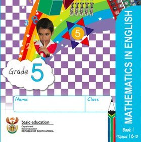 Gr. 5 Rainbow Maths Book 1