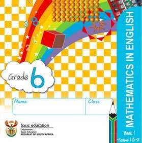 Gr. 6 Rainbow Maths Book 1