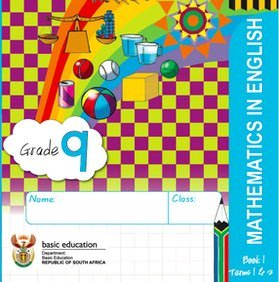 Gr. 9 Rainbow Maths Book 1