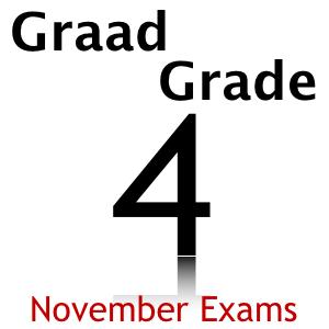 Grade 4 Graad 4 November Exams